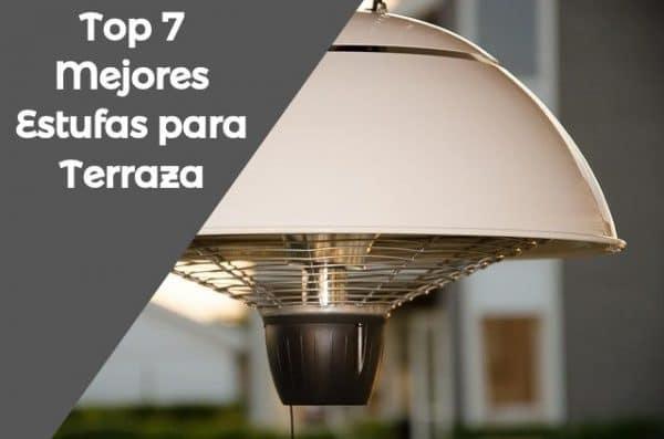 Comparativa y Ranking de las mejores estufas exteriores para terraza