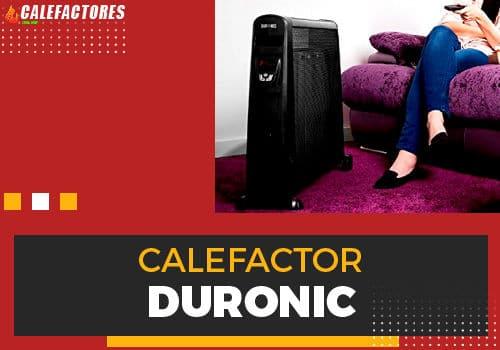 Mejores calefactor Duronic