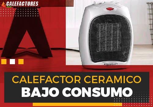 Mejores calefactor ceramico de bajo consumo