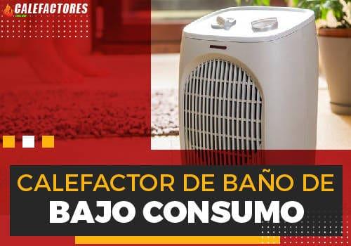 Mejores calefactor de baño de bajo consumo
