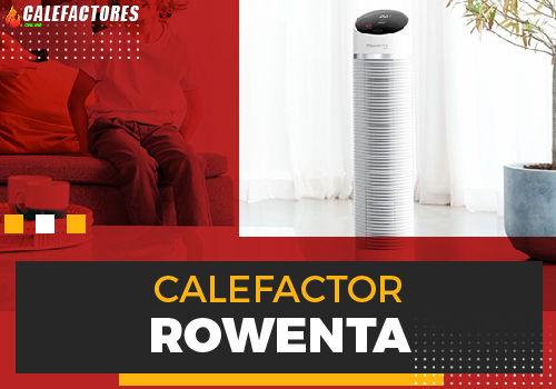Mejores calefactor rowenta