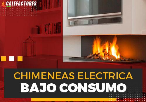 Mejores chimeneas electrica de bajo consumo