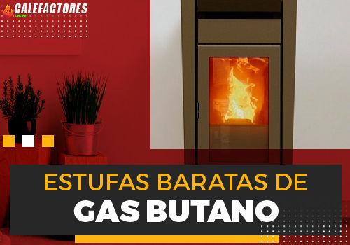 Mejores estufas baratas de gas butano